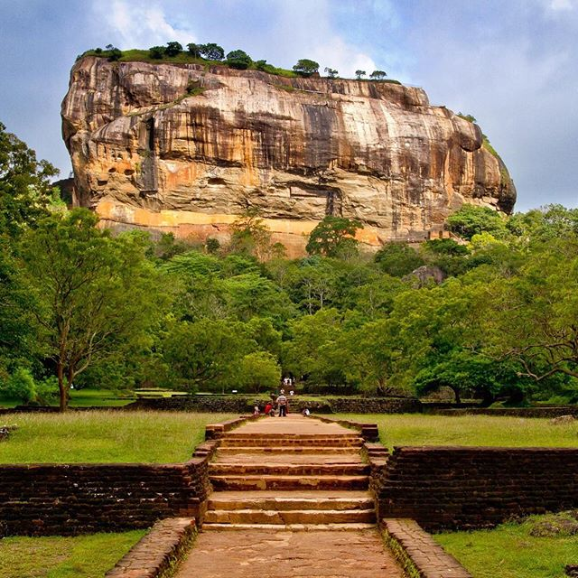 Reach new heights this winter in #srilanka. Explore the #sigiriya Rock Fortress and so much more. Next trip starts December 20th! #Justifi