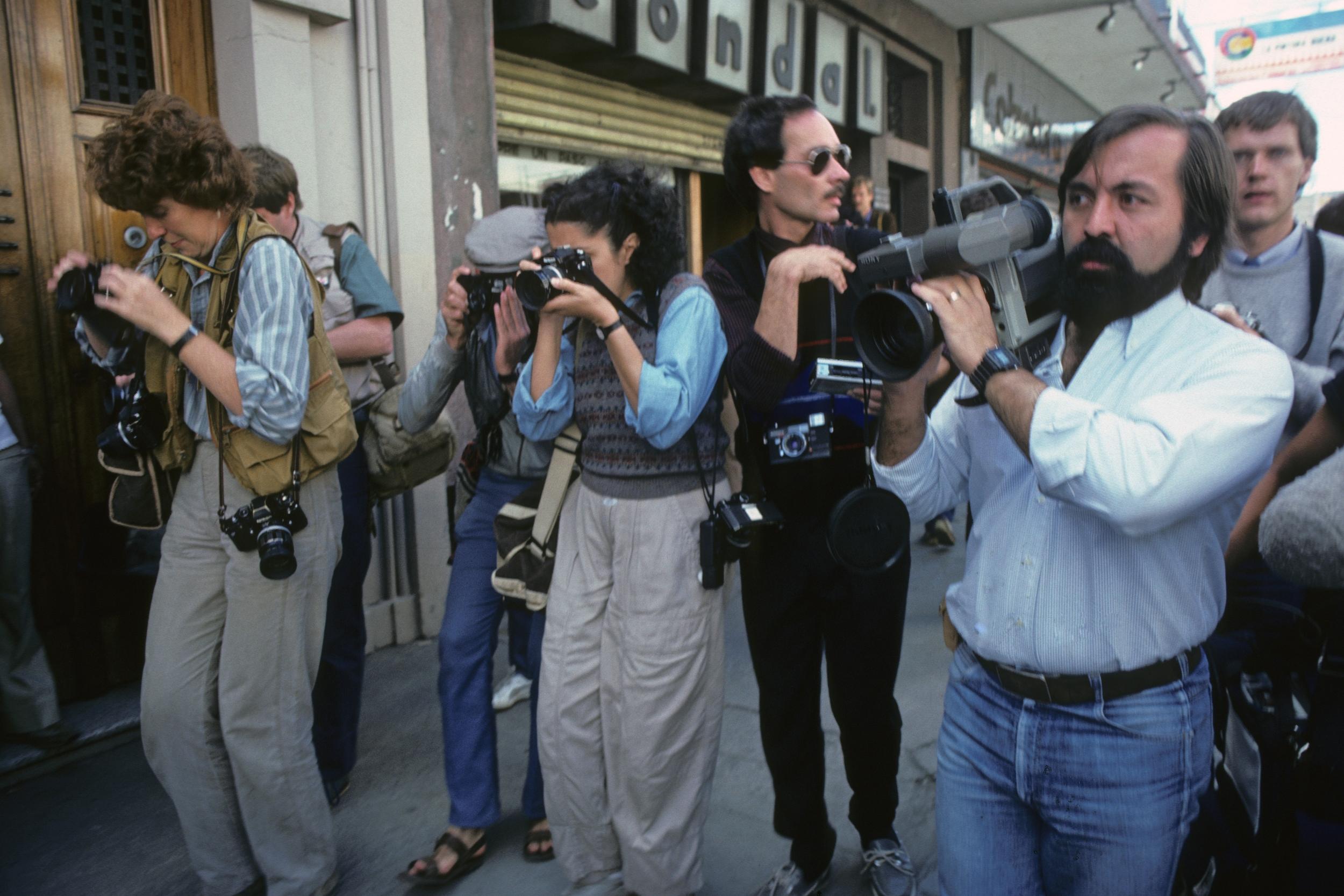 Ciudad de Guatemala, 1984 /  Guatemala City, 1984  (Photo: Jean-Marie Simon)