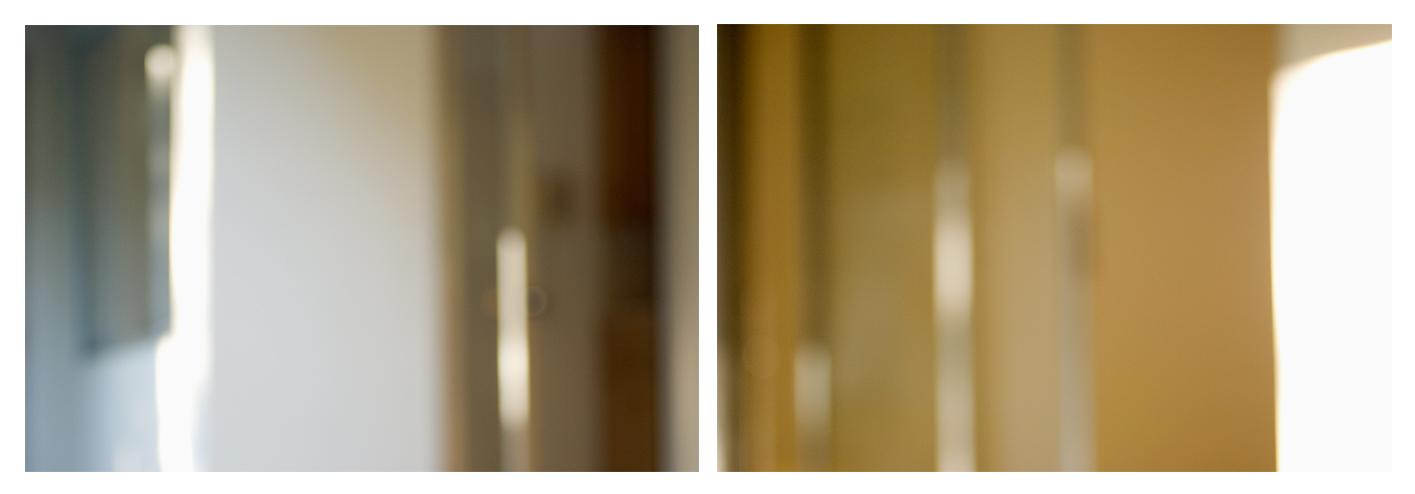 "occasionally making vague movements of small extent   c-prints, aluminum, wood, plexiglass, 11.5"" x 37"""