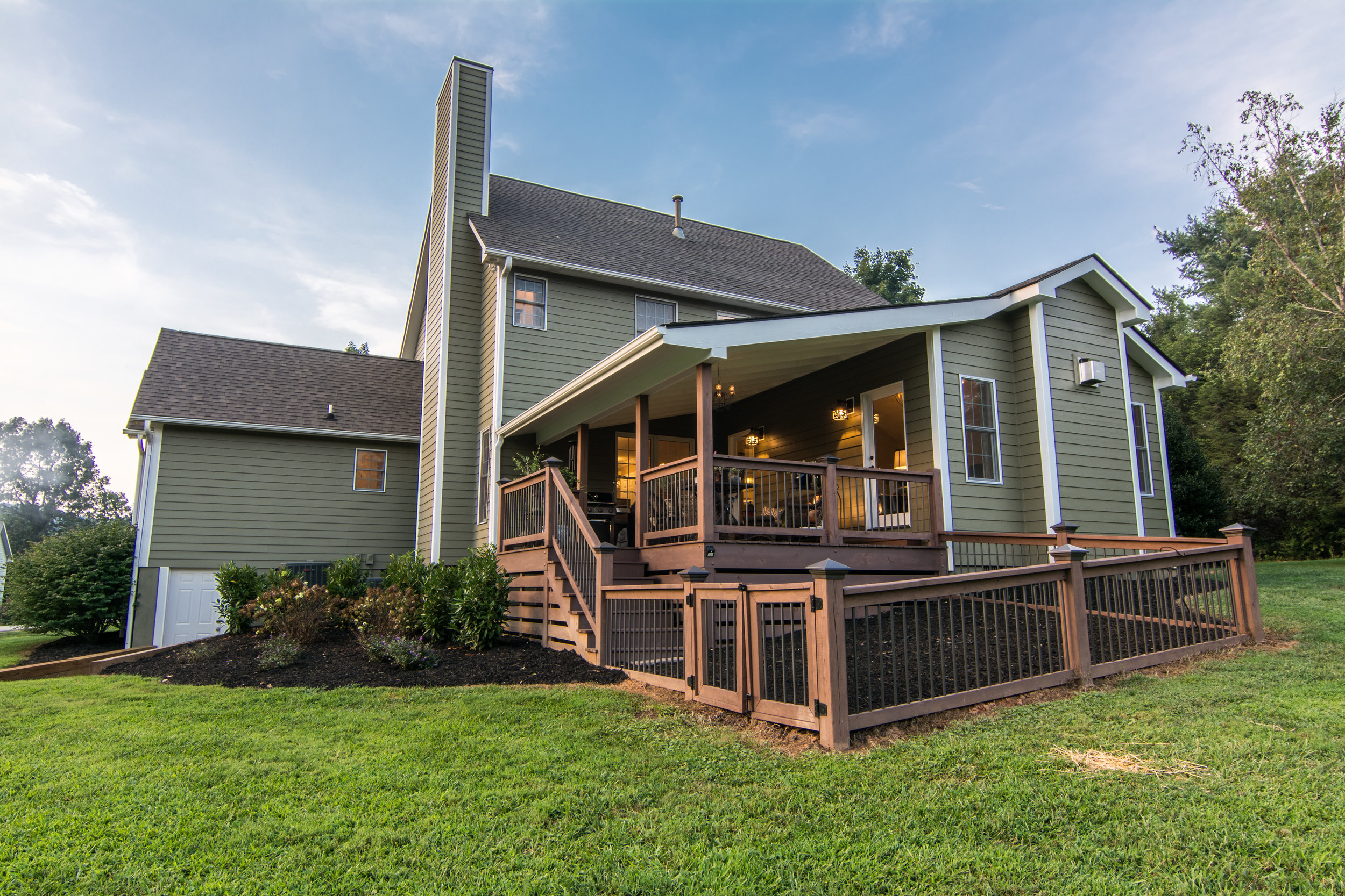 Asheville home builder of additions renovations