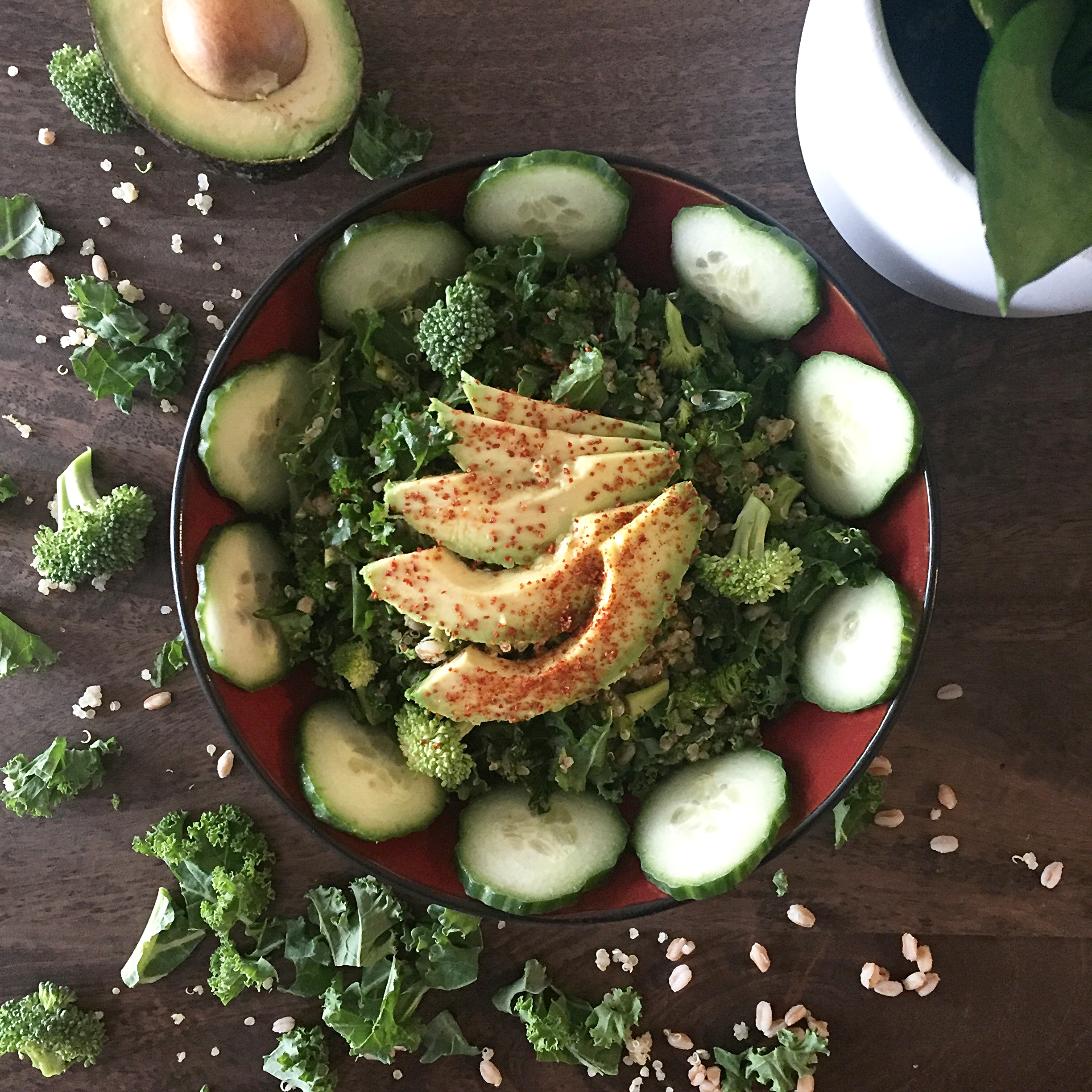 Grain Kale Salad