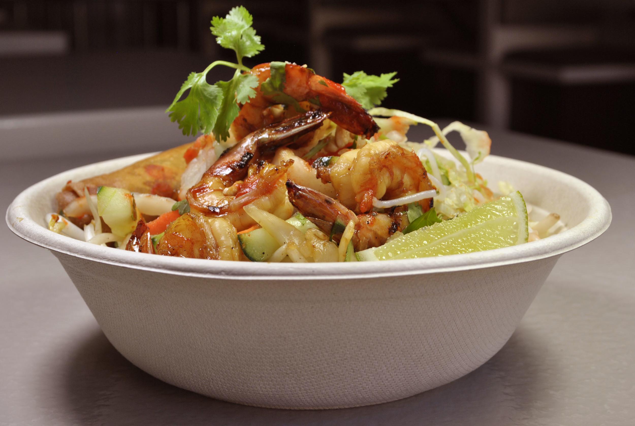 Grilled Caramelized Shrimp