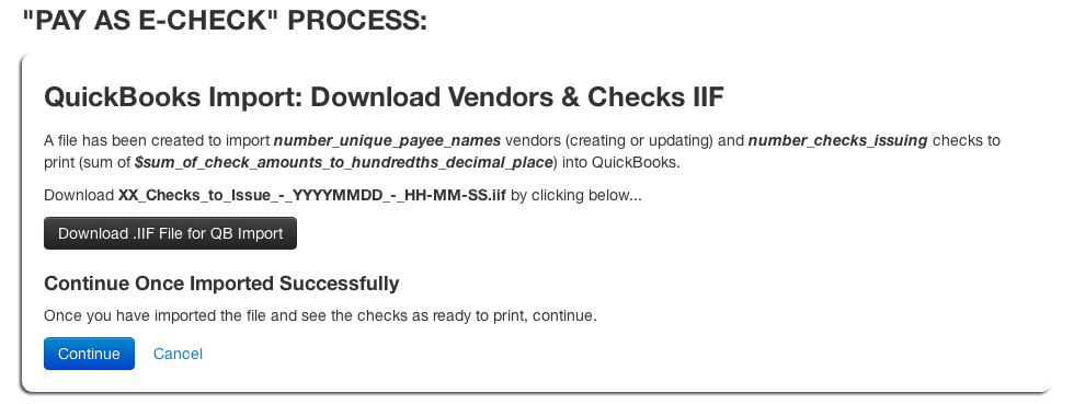 Pay Queue - Pay as E-check Process 1.png