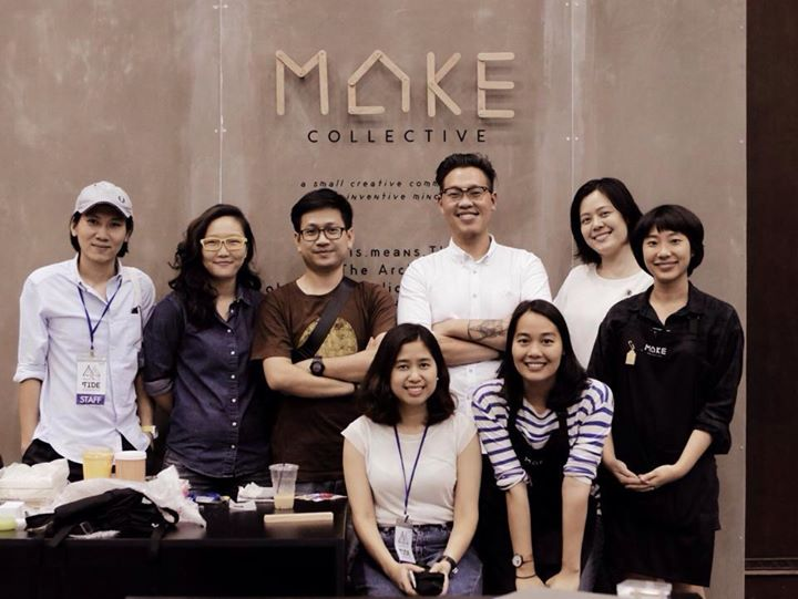 "6 studios, 8 makers,... for one community ""MAKE.collective"""