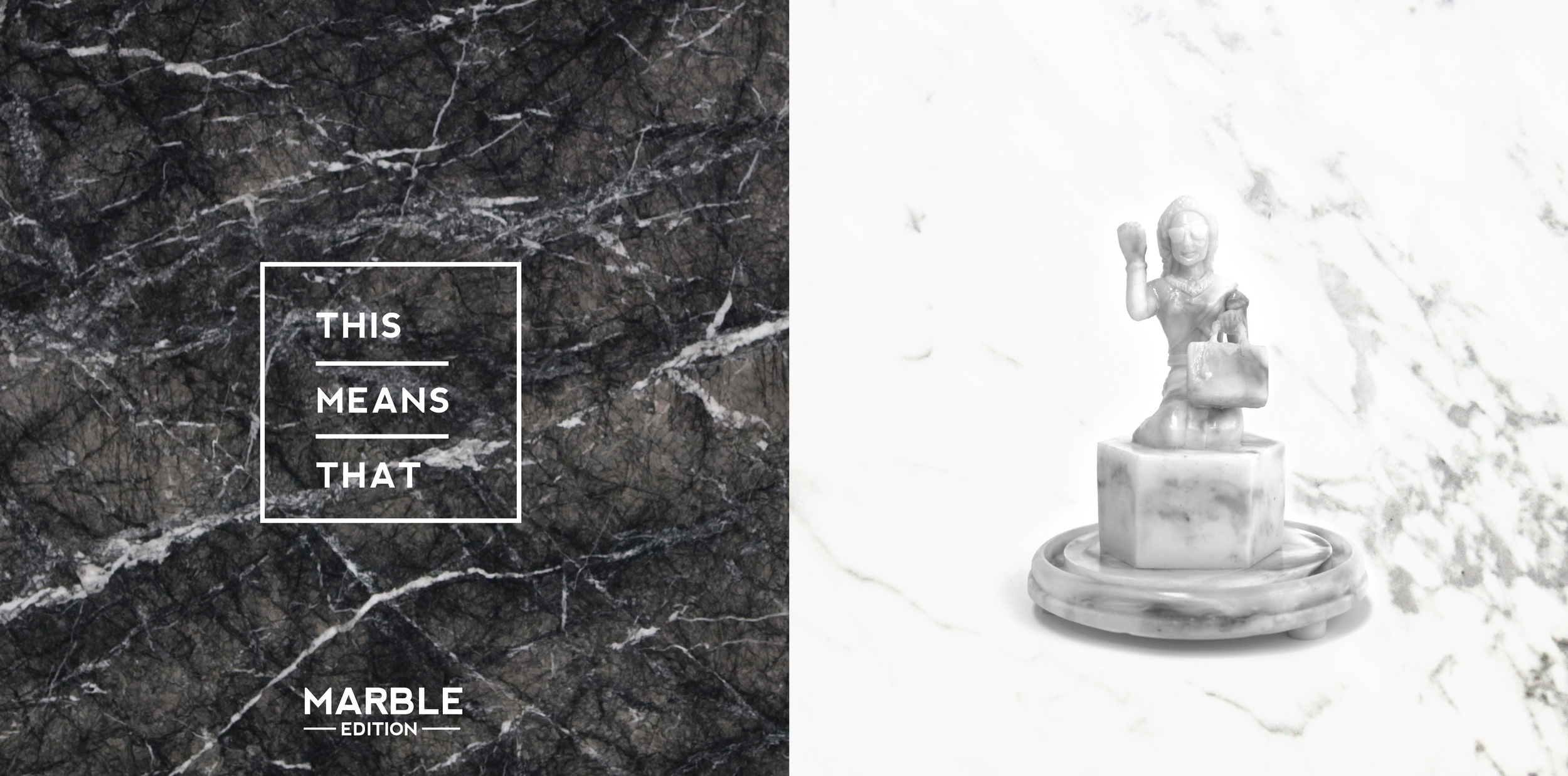 White Marble, the edition of 2  **NOW SOLD OUT**