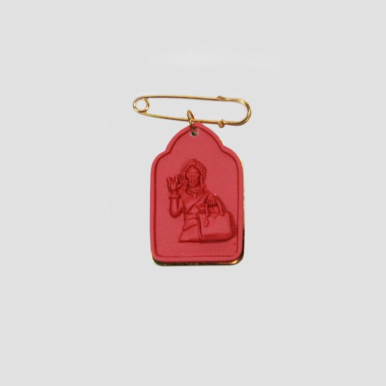 SOULMATE  | PIN | RED  3cm x 5cm x 0.5cm