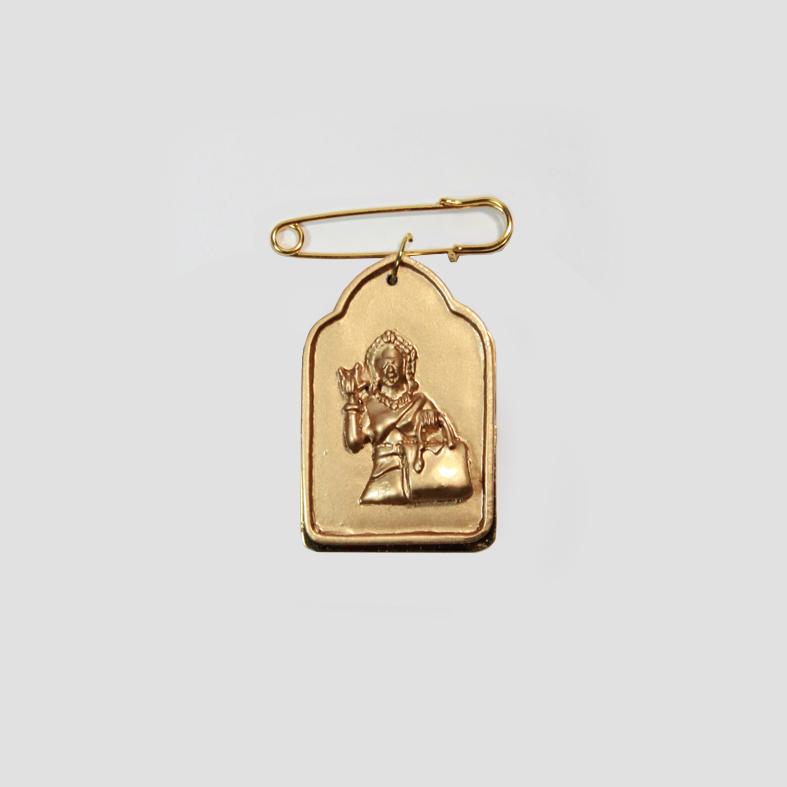 SOULMATE | PIN | Gold  3cm x 5cm x 0.5cm