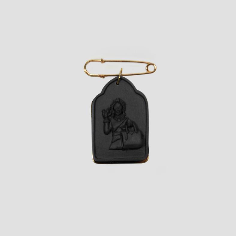 SOULMATE | PIN | Black  3cm x 5cm x 0.5cm