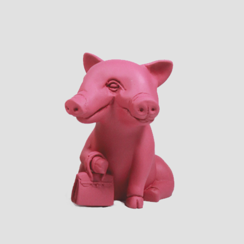Lucky Pig | Object   Colour : Red  size : W15 x D15 x H16 cm  price : 3,400 THB