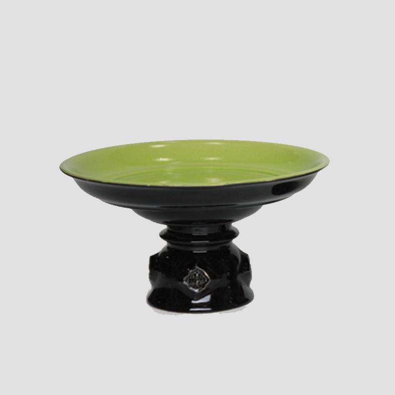 Phan | Tray   Colour : Black/Green  size : W25.5 x D25.5 x H14 cm  price : 1,950 THB