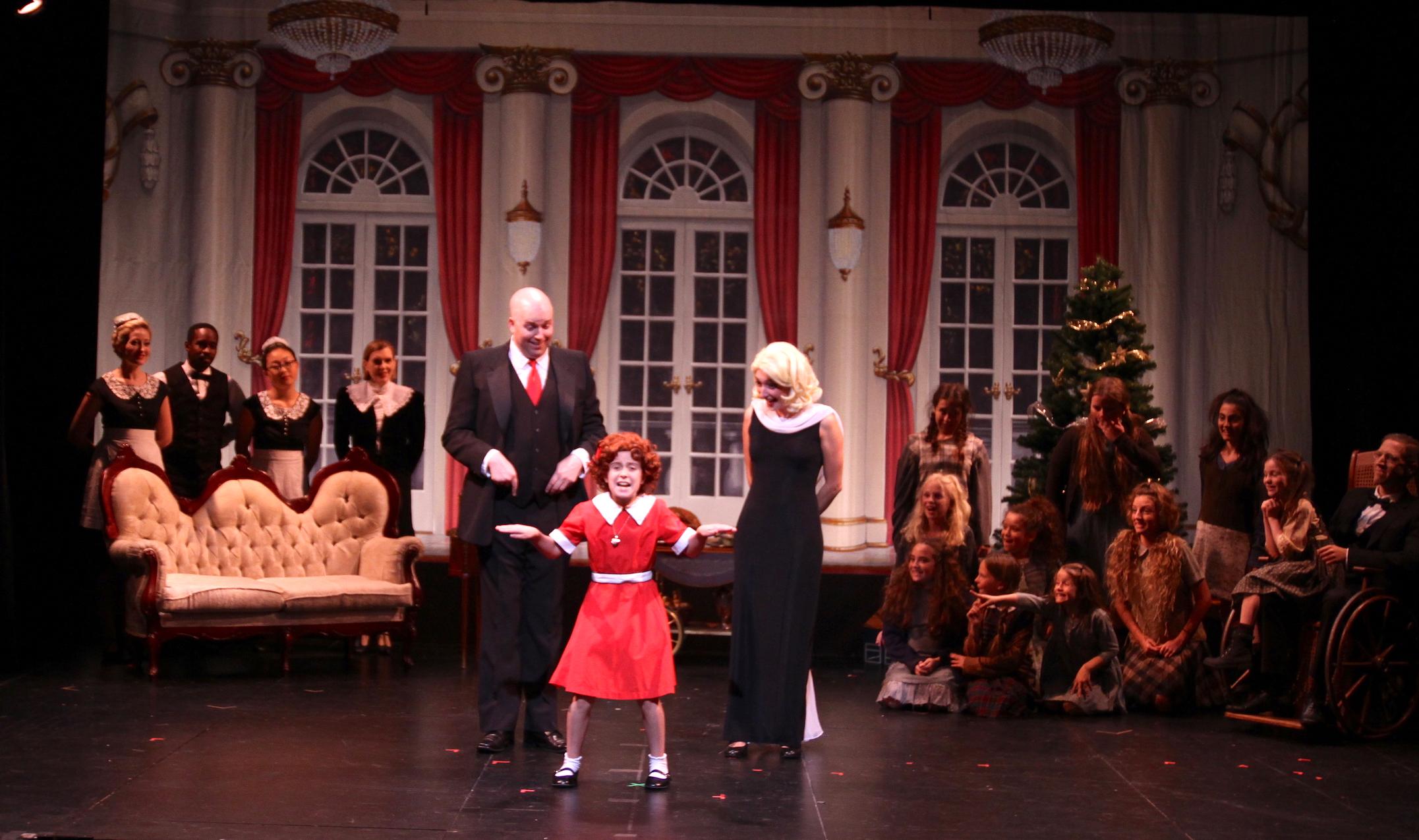 Annie Warbucks  (Signature Theatre, NYC)