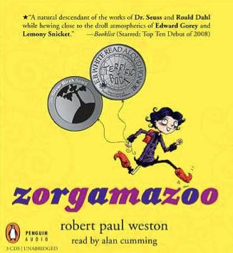 EARPHONES AWARD   I won the Audiofile Magazines Earphones Award for reading Zoorgamazoo!