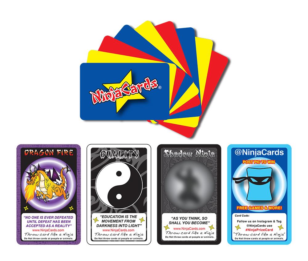 15pk of Ninja Cards    $5.99