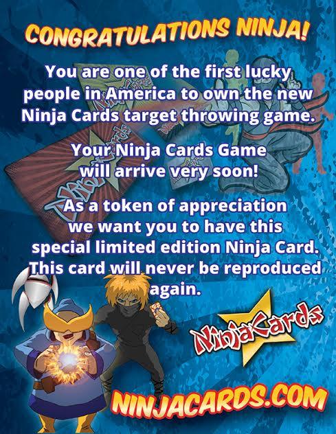 Ninja Cards