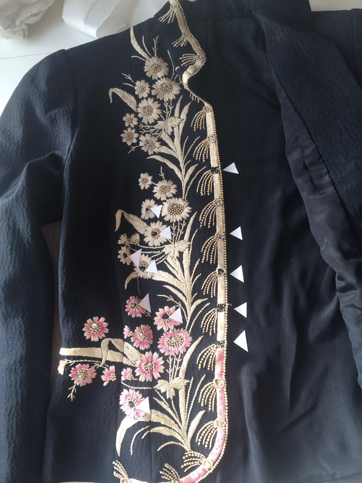 Schiaparelli evening jacket, 1937-8