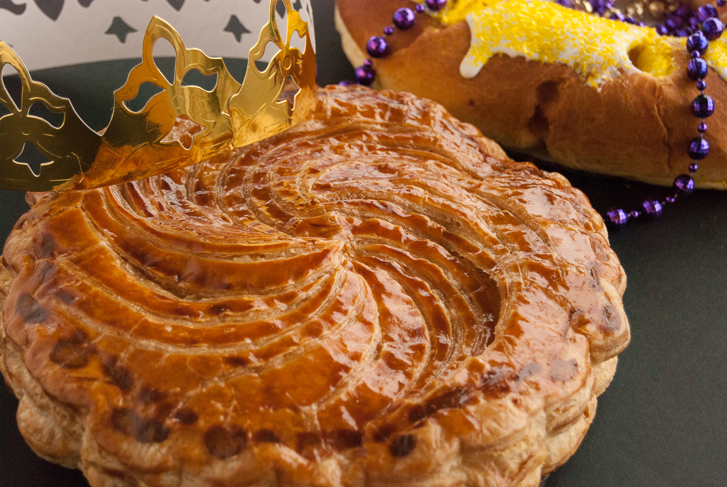 Traditional French King Cake