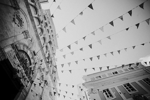 So yes, black and white has been cool. Trendy. On topic. However, it can't tell me what color this very colorful bunting was. Therefore, we shall resume with regular @itsreahlykatie style photography. Maybe a little different. Time will tell.