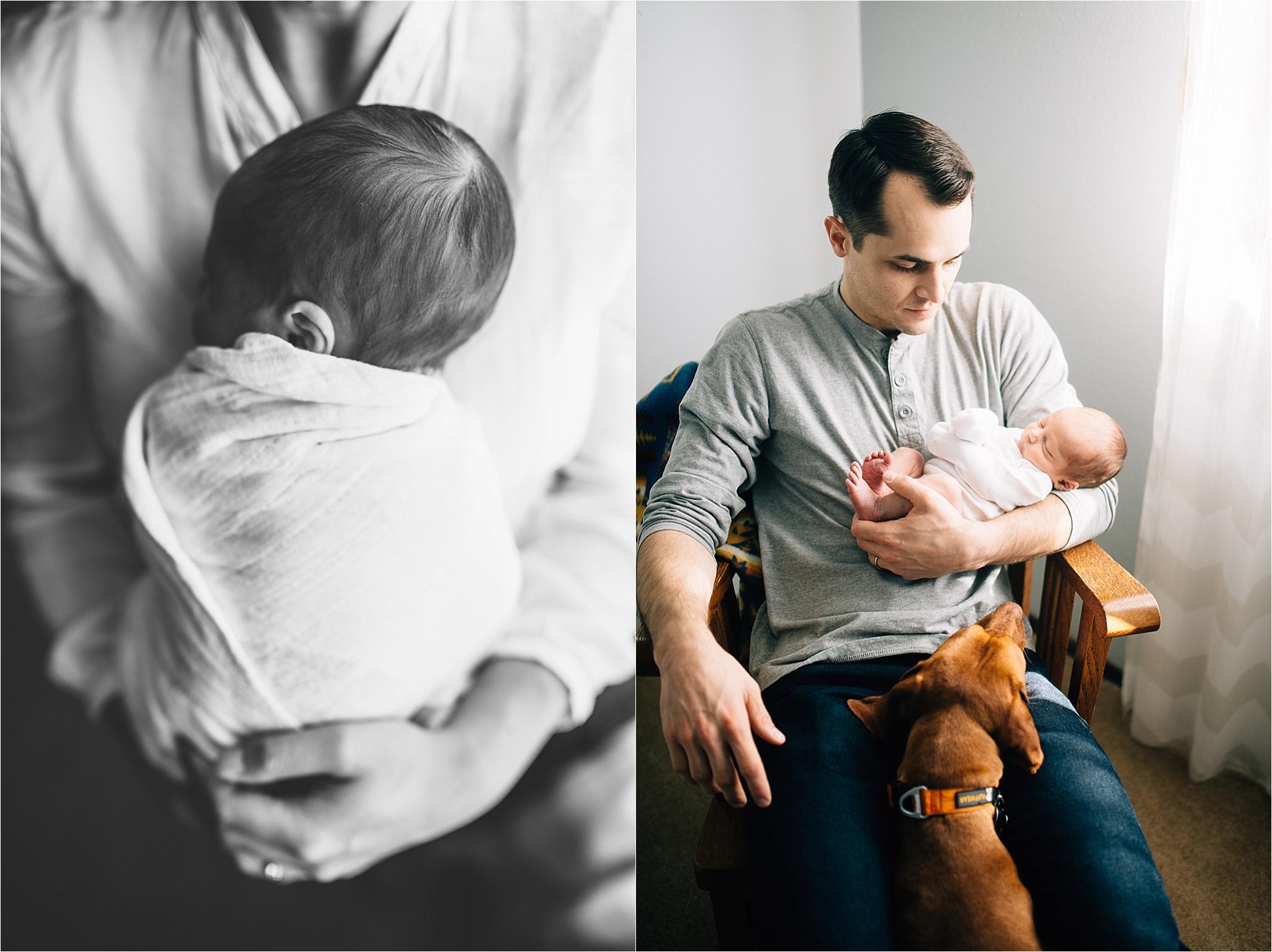 St. Louis Newborn Lifestyle Photography