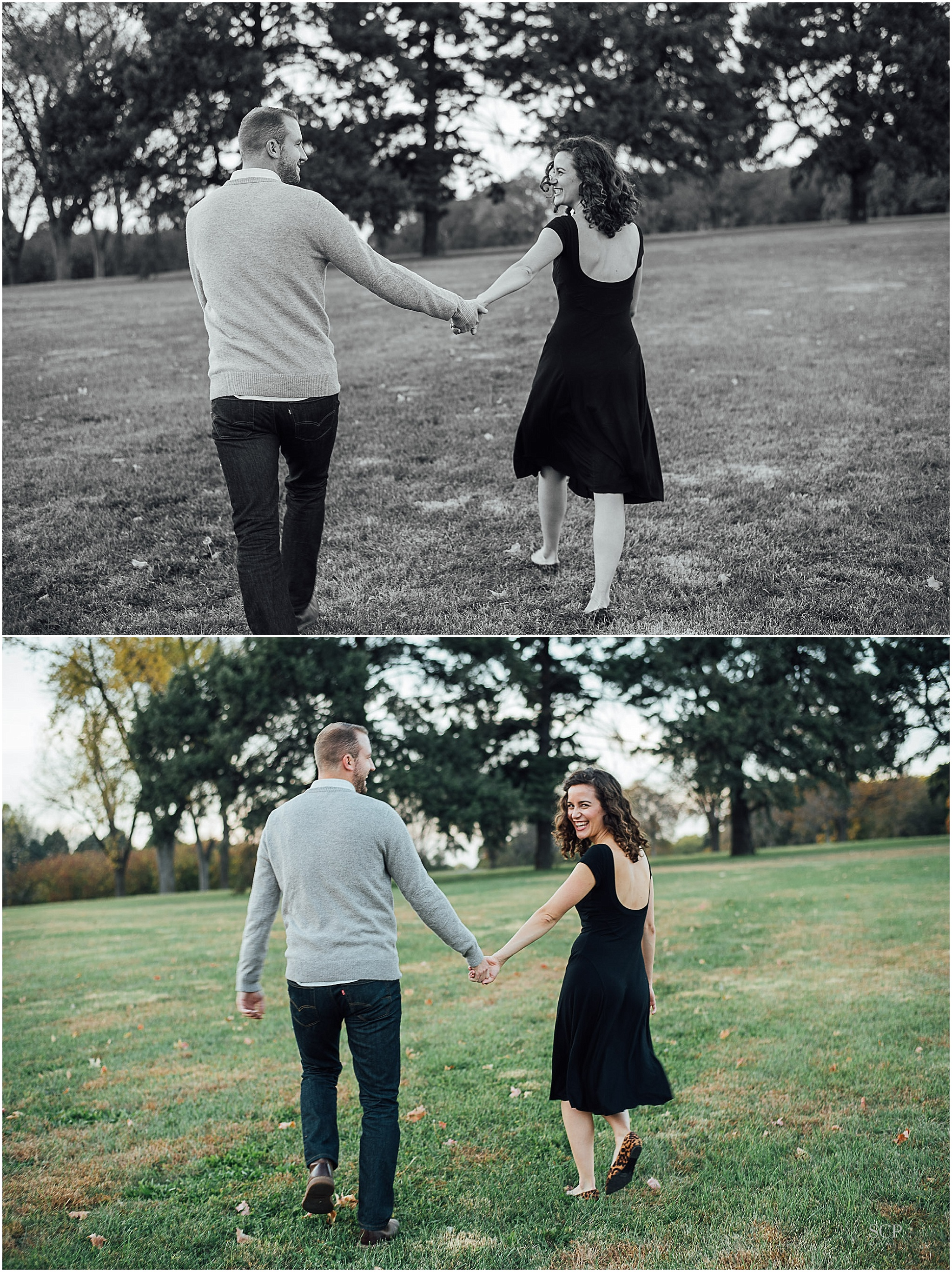 French Bulldog Memorial Park engagement anna matt-0564.jpg