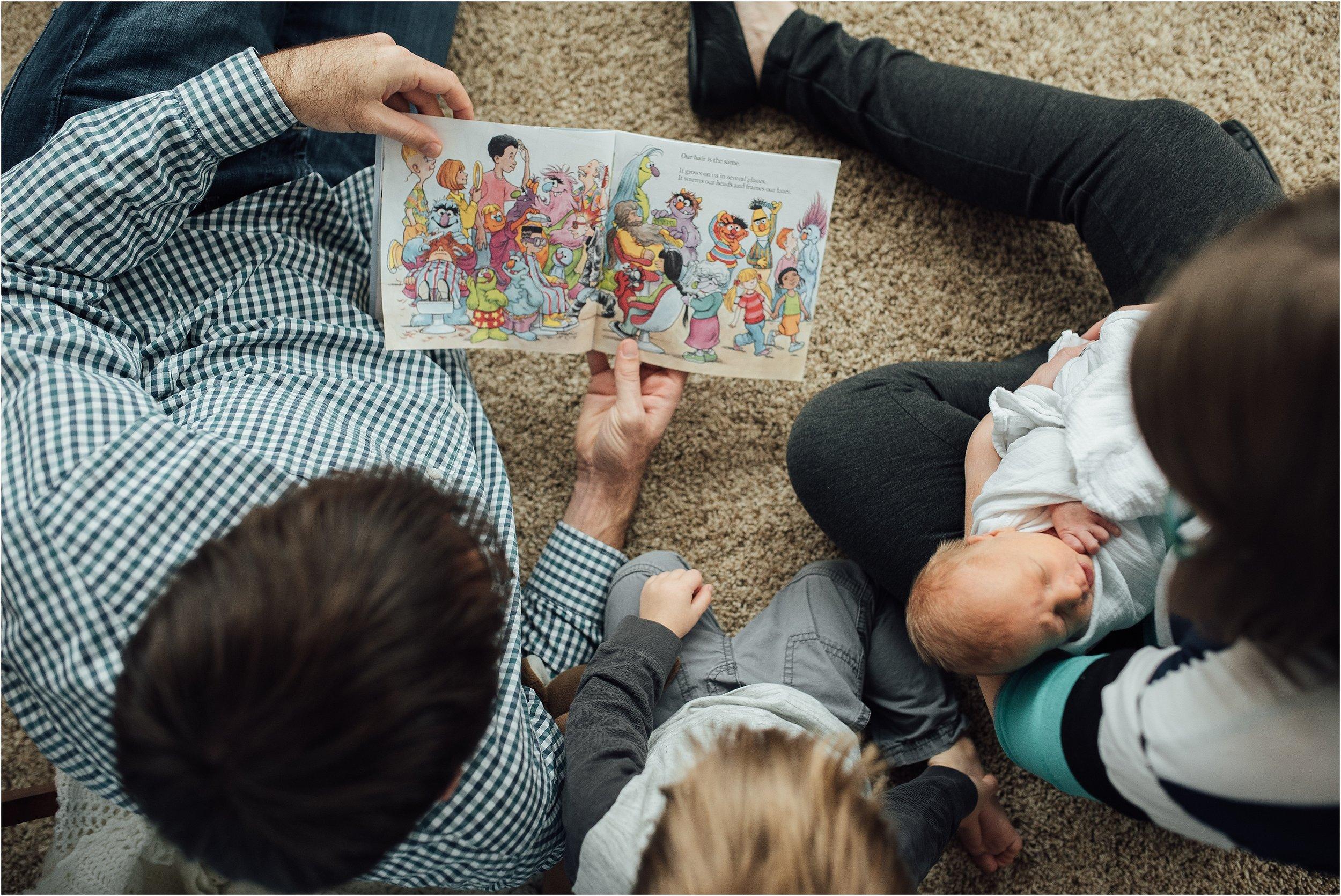 St Louis Newborn Lifestyle Photography