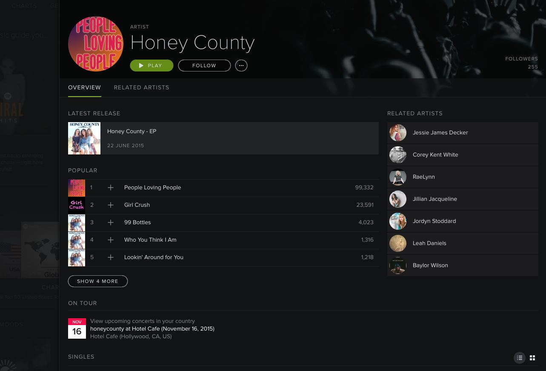 Spotify following verification