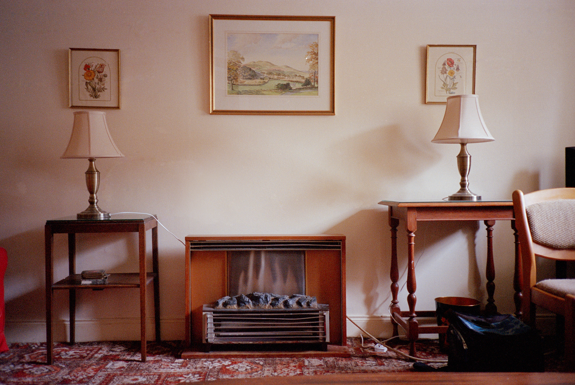 Plug-in Fireplace, St Andrews (2014)
