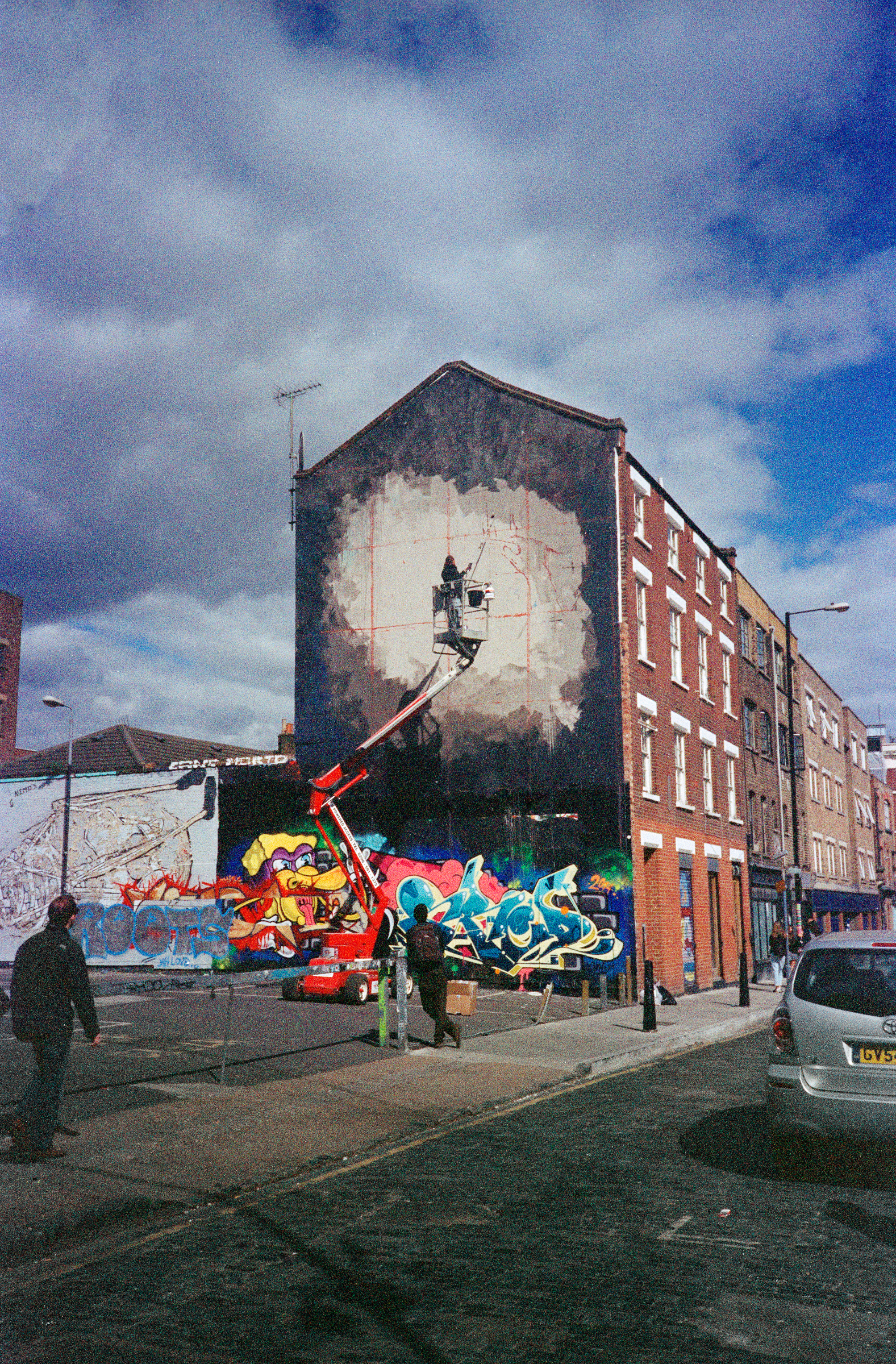Mural, London (2014)