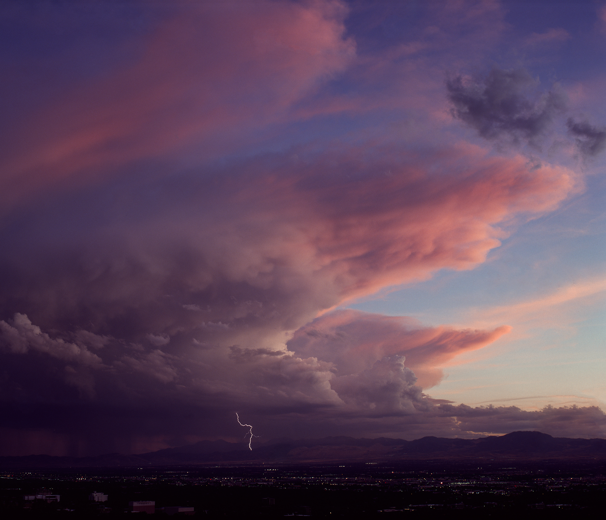 Evening Thunderstorm, Salt Lake City (2014)