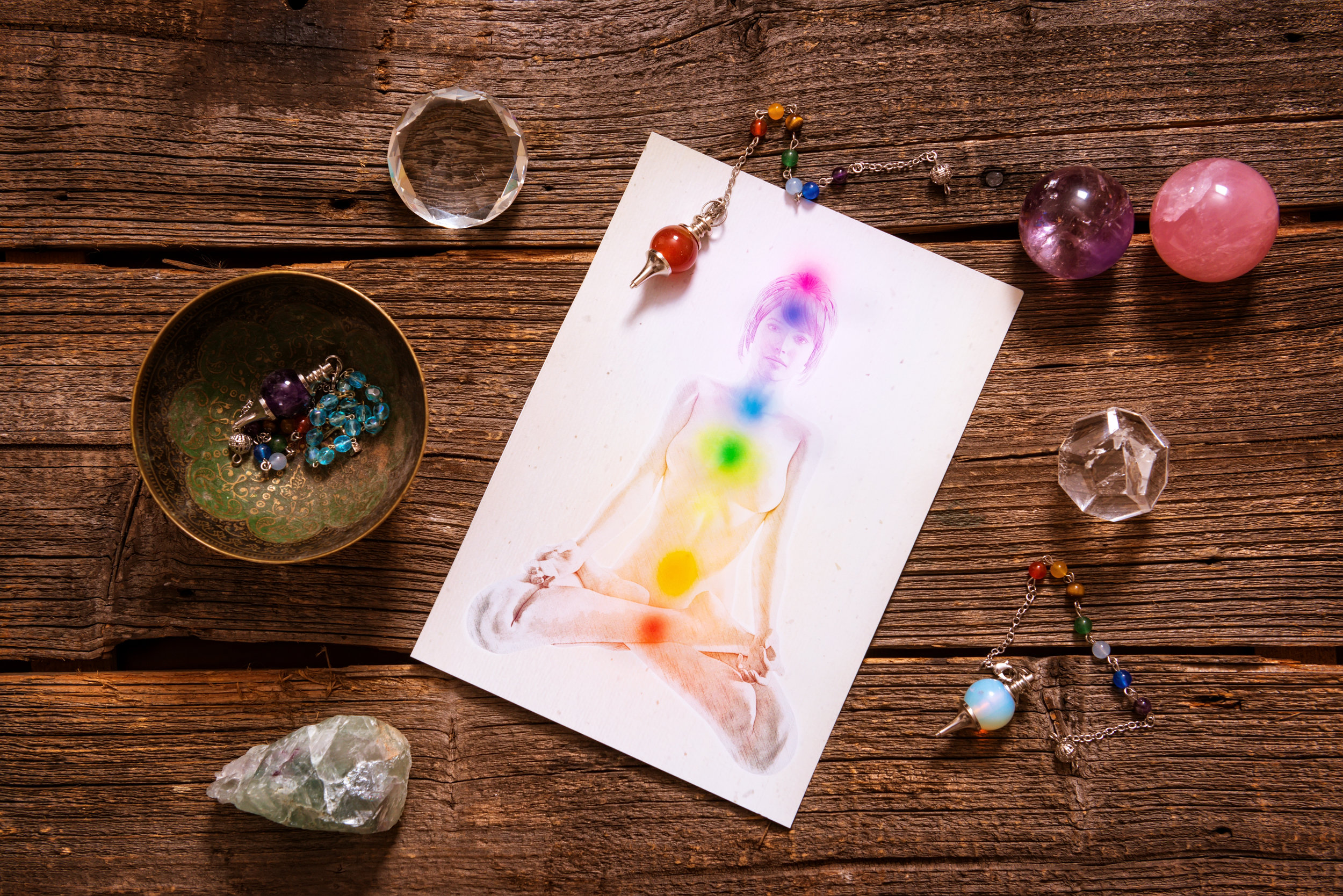 Chakra Clearing - for optimal manifestations