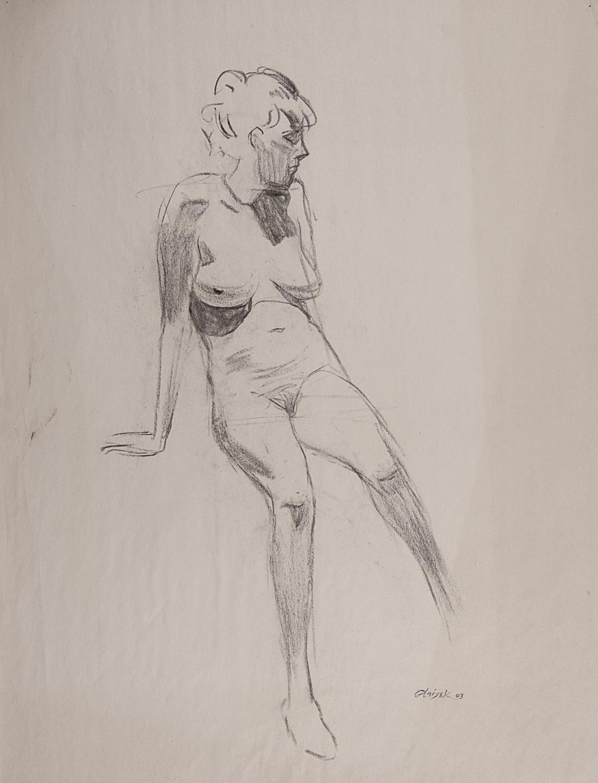 05  Seated Female Nude