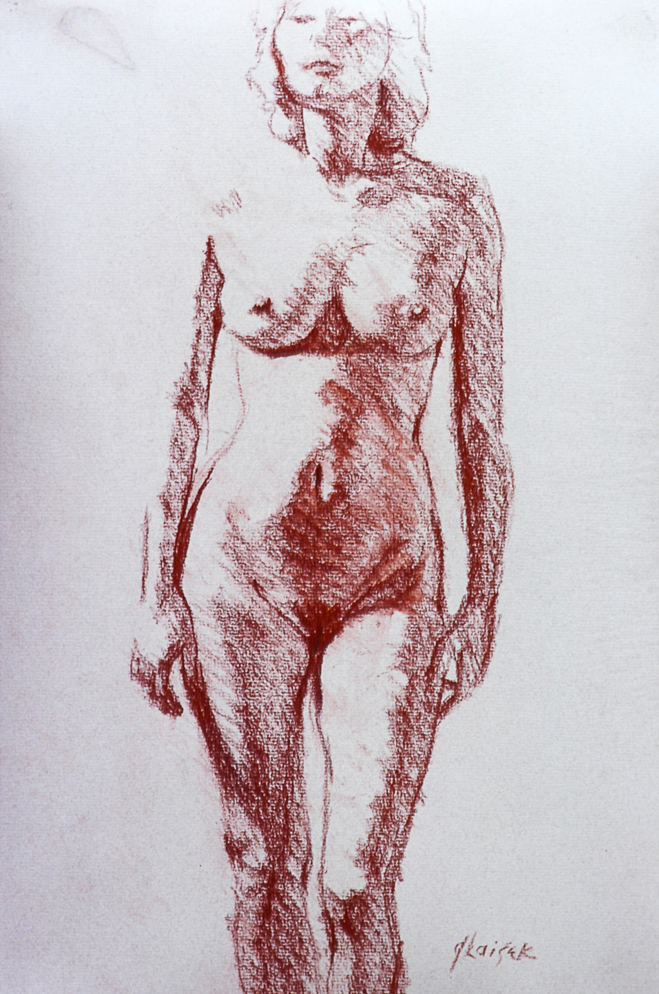 01  Female nude - front