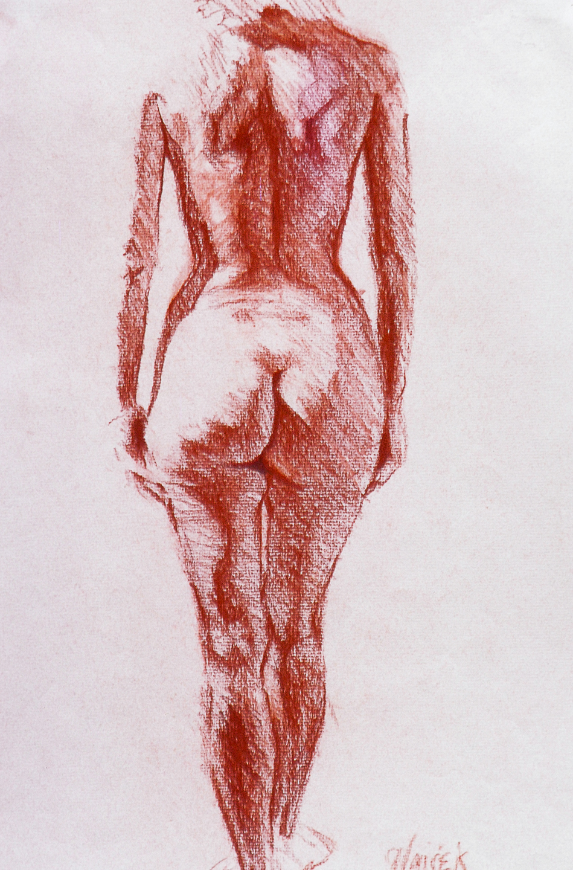 03  Female Nude - back