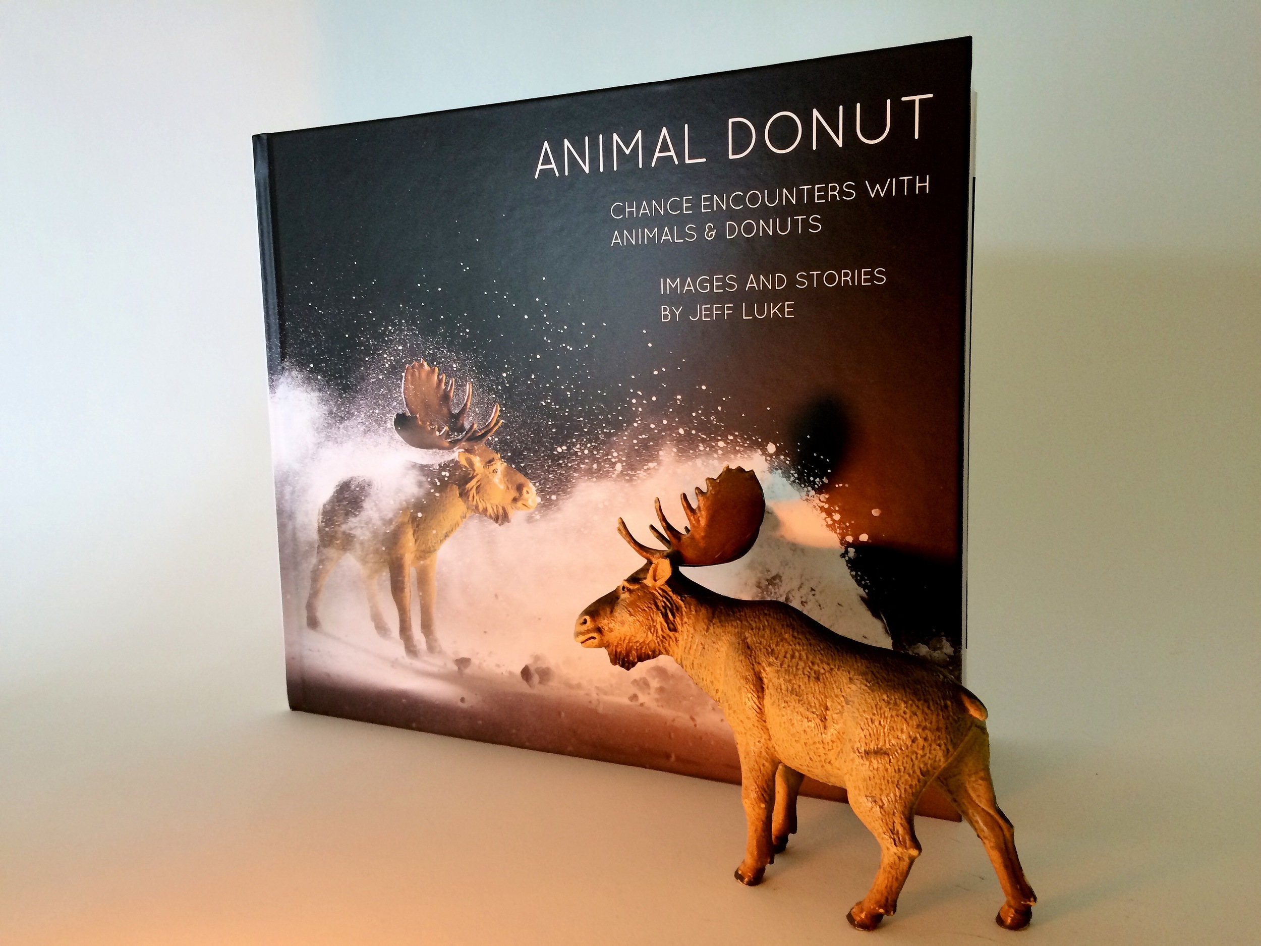 The brand new Animal Donut book has been printed, but for now there are only a few copies in existence. We will ramp up printing before long and the book will be available on Amazon soon.