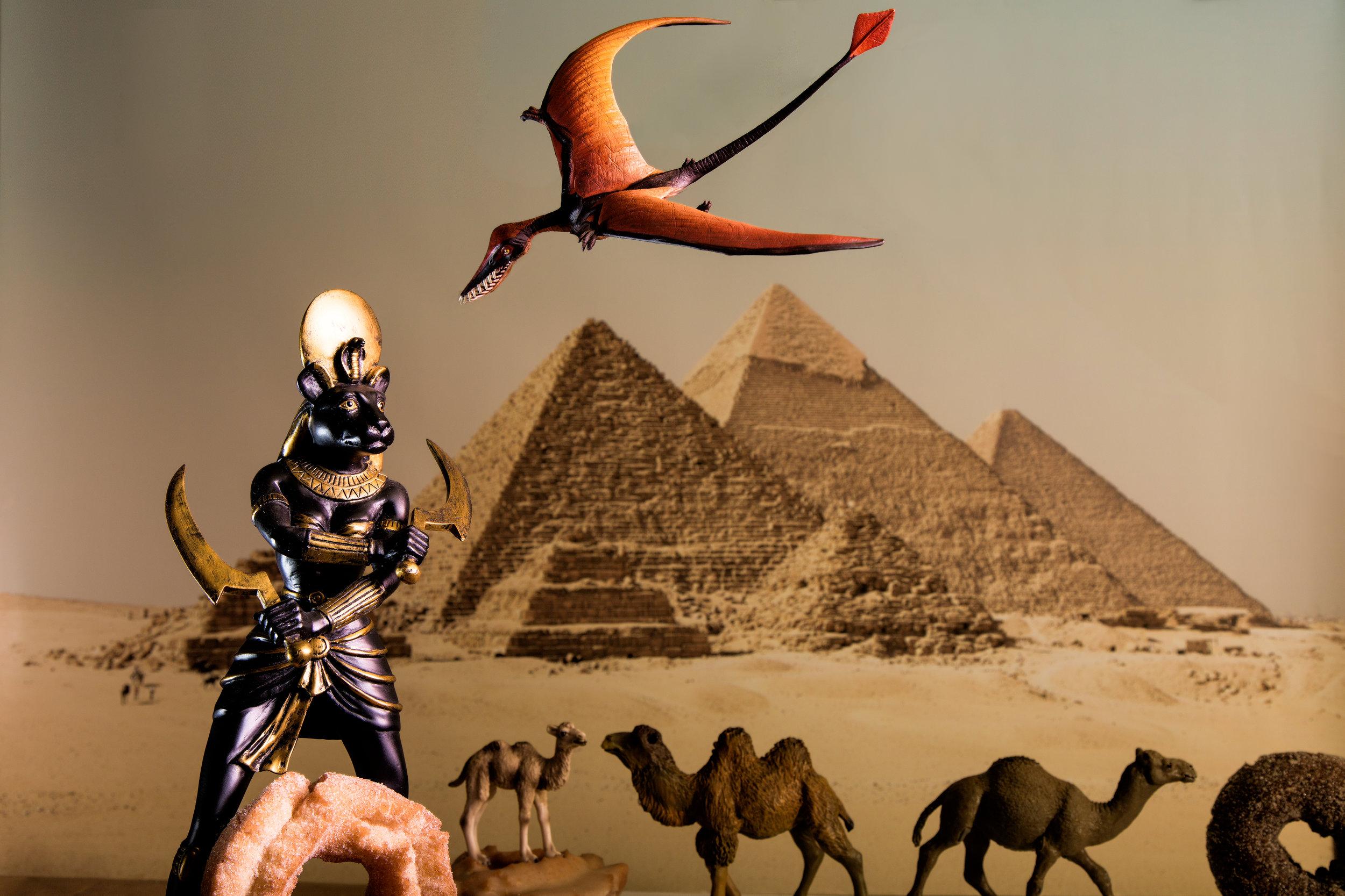 Egypt Scene with Teradactyl