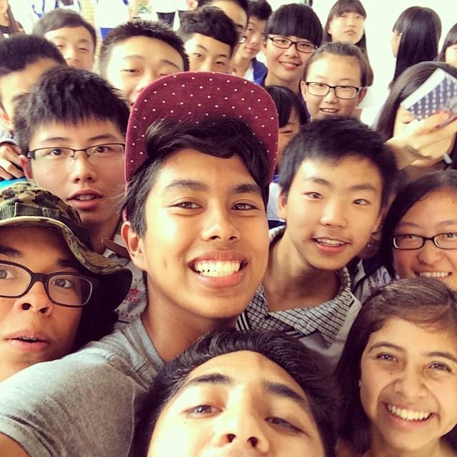 """""""What is a... how you say... a selfie?"""" - Chiang XiaoPin #inspire #ruralchina #dujiangyan"""