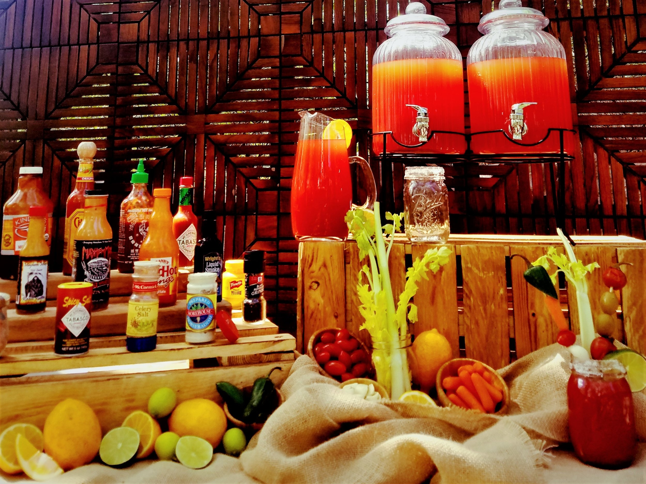 Mike's Famous Bloody Mary Bars