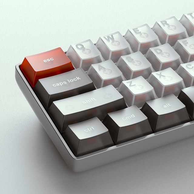 My keyboard entry for this week's @renderweekly. Huge thank you to @_zarki_ for the upfront work on this one. Rendered in @keyshot3d - - - - -  #renderweekly #renderweeklys3w6 #keyshot #photoshop #keyshotrender  #digitalrender #industrialdesign #productdesign #renders #render_contest #renderoftheday #3drender #3dcad #cg #cgi #solidworks #rhino #alias #grasshopper #design #gsgdaily