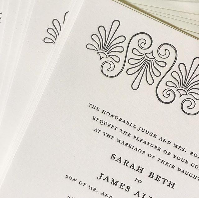 Lovely modern, deco, custom invitations inspired by @hotelsaintcecilia  #letterpress #printmaking #weddinginvitations #dailydoseofpaper #ohsobeautifulpaper #custom #customdesign #austinweddings #smpweddings #marthastewartweddings #vertallee