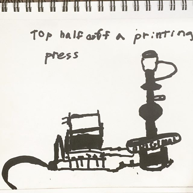 Sketching our way back to reality as summer winds down.. #printingpress #sketchbook #kidart #summer #dontgo