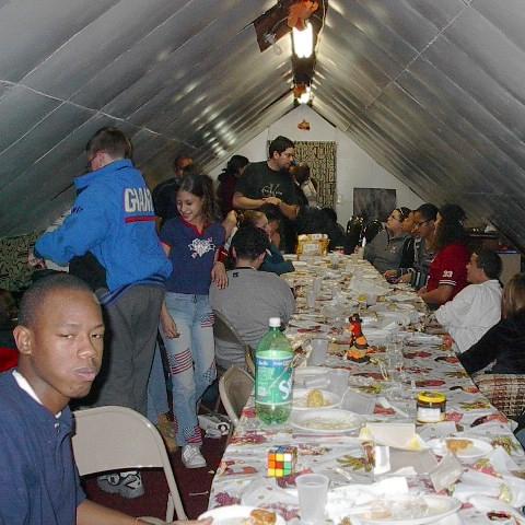 Thanksgiving Dinner 2002