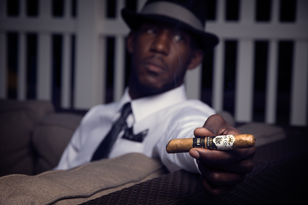 This photo was part of a series for a competition by Kristoff Cigars.