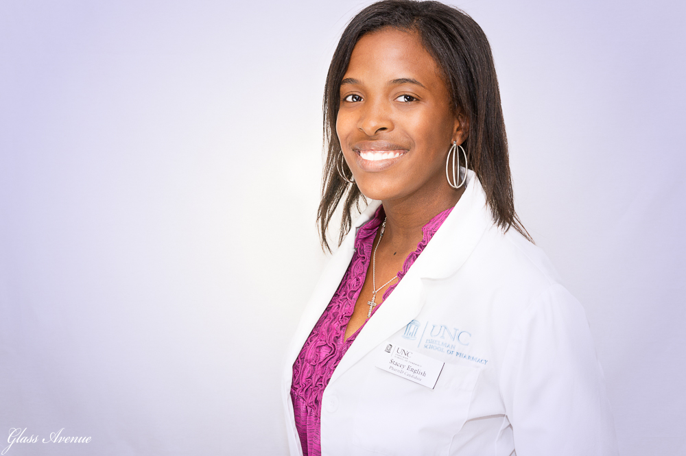 A Headshot for Dr. English during her Residency Application