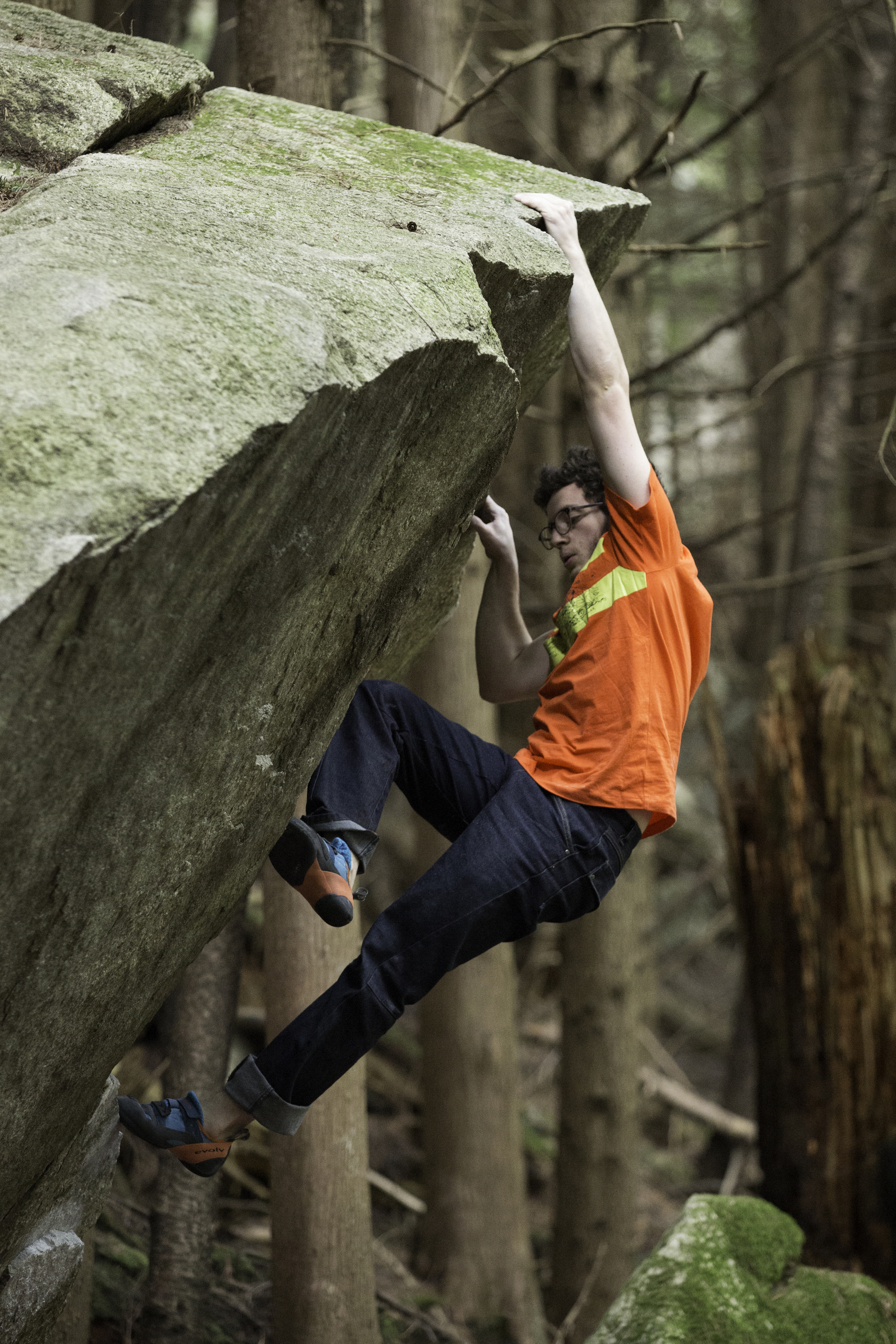 Mason Pitchell on 'Missing in Action' v8, Squamish BC, Canada.