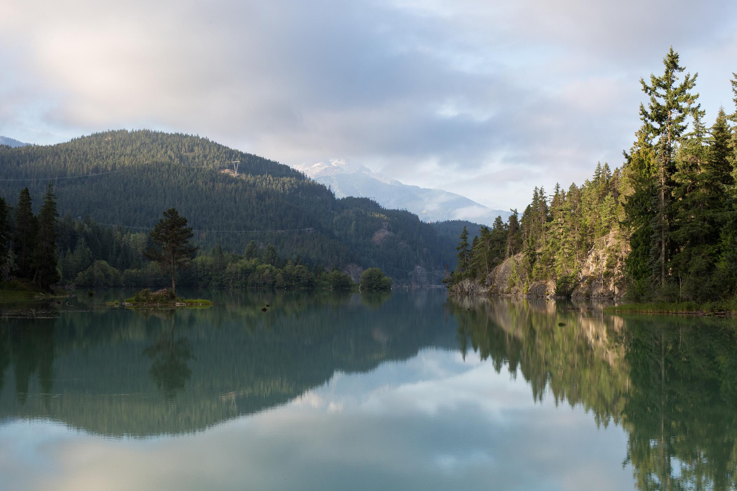 Hobo camp spot, Whistler