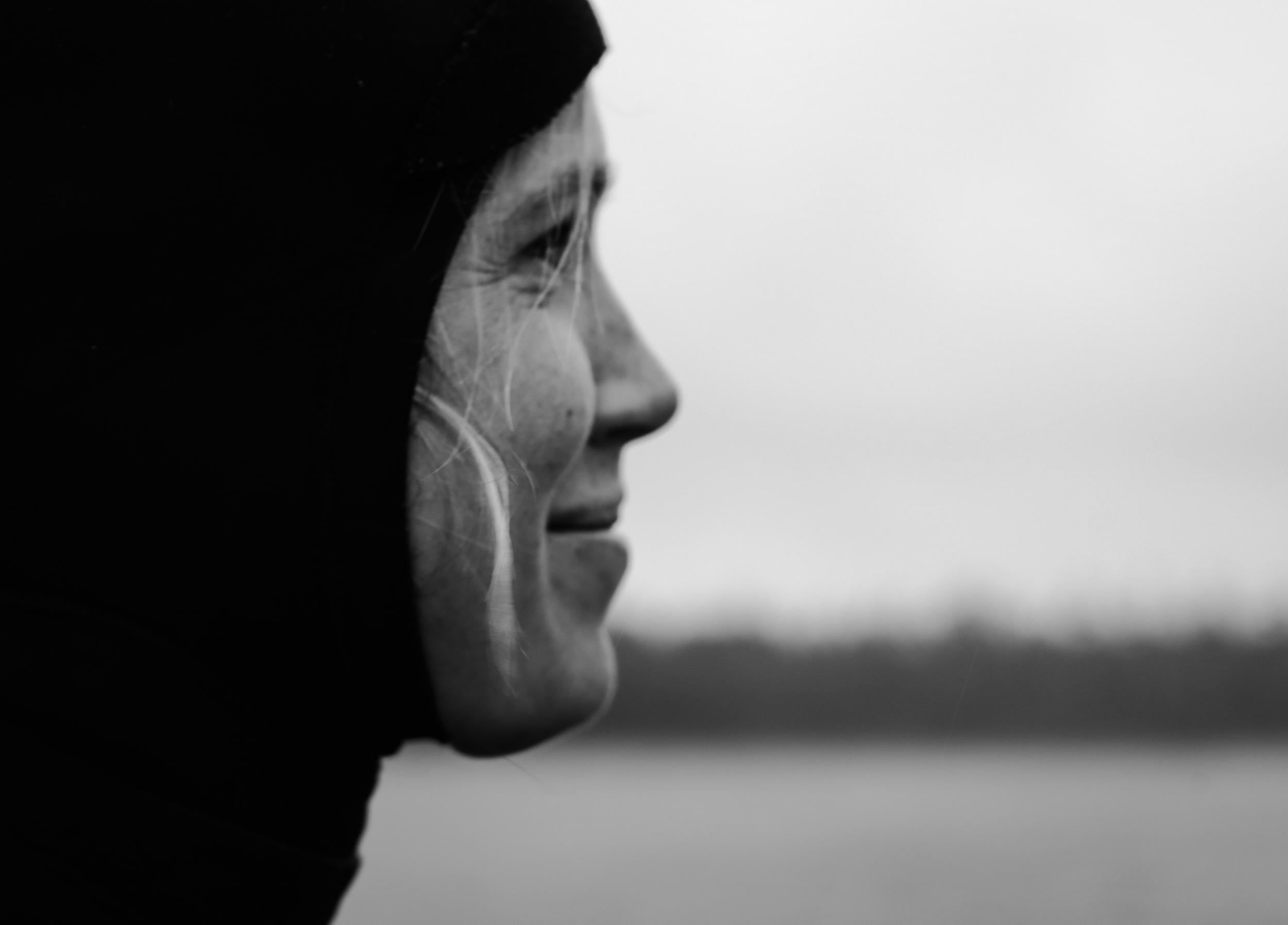 Sahara, wetsuit portrait