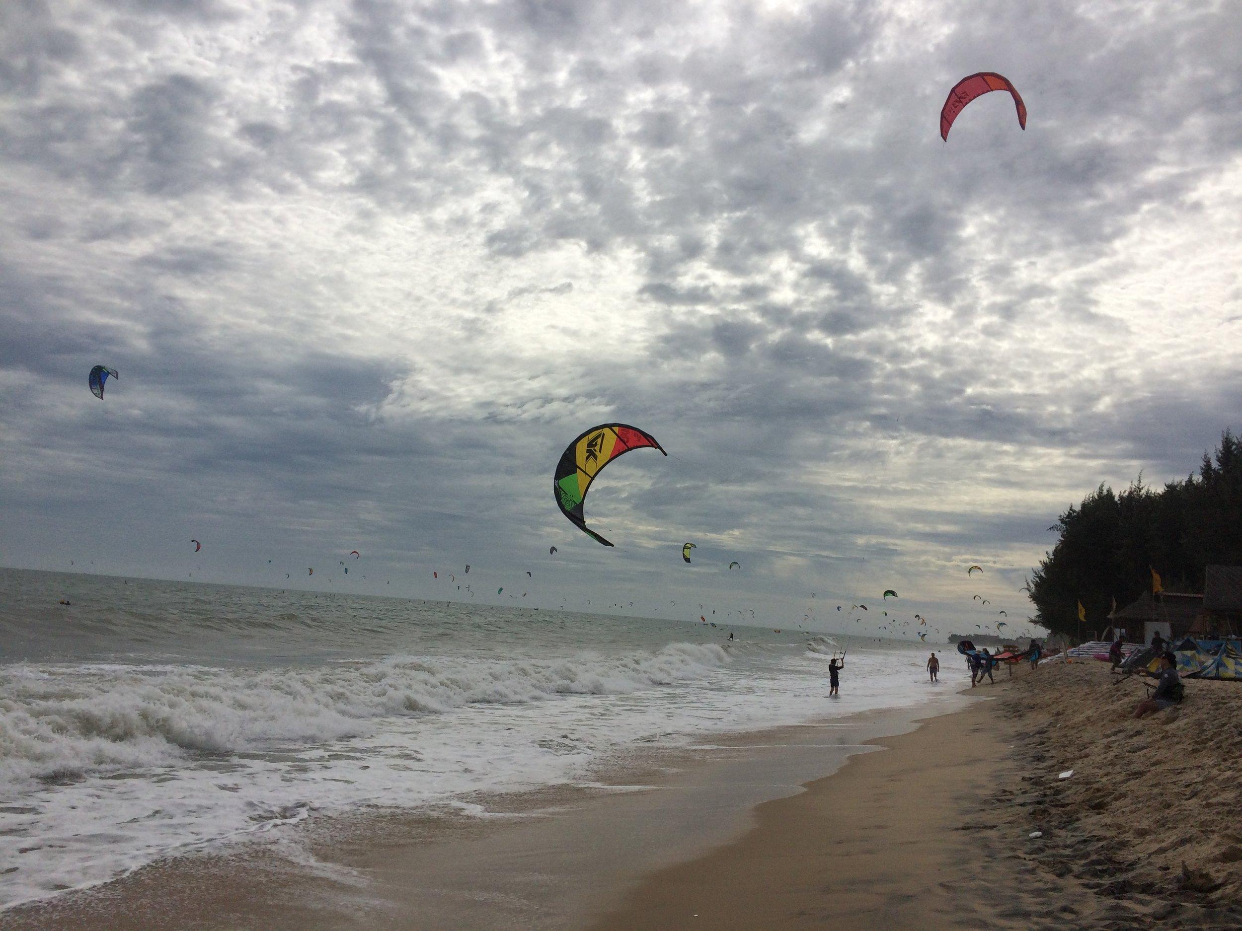 Mue Ne Bay on a slow day