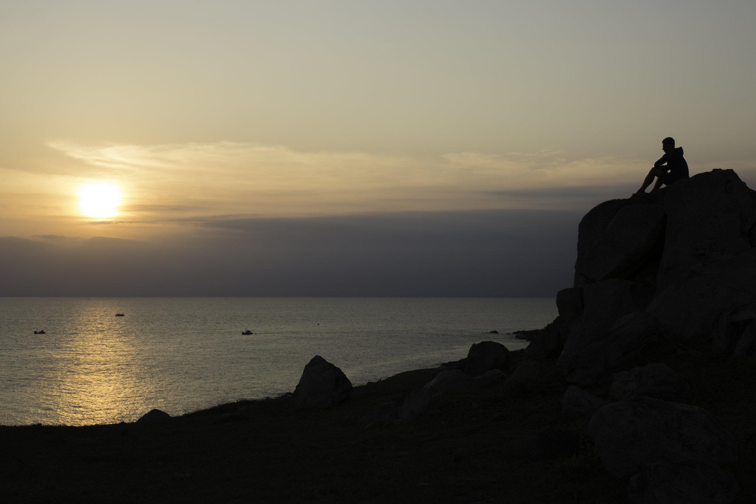 Sunsets were always good