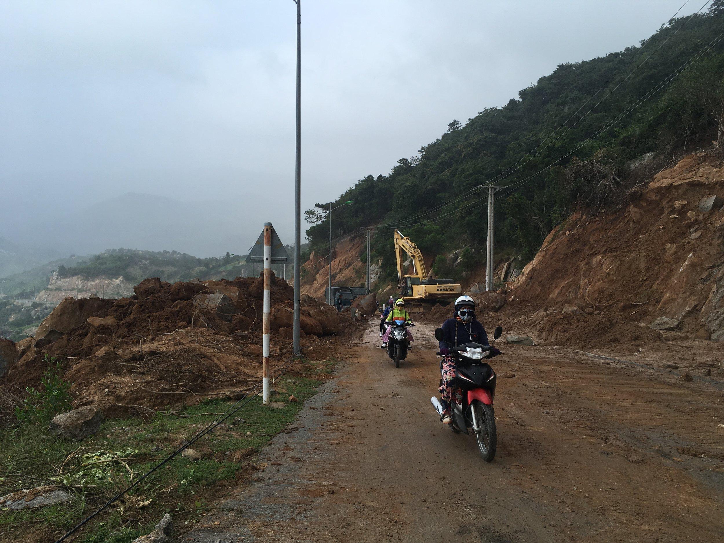 Road engineering...
