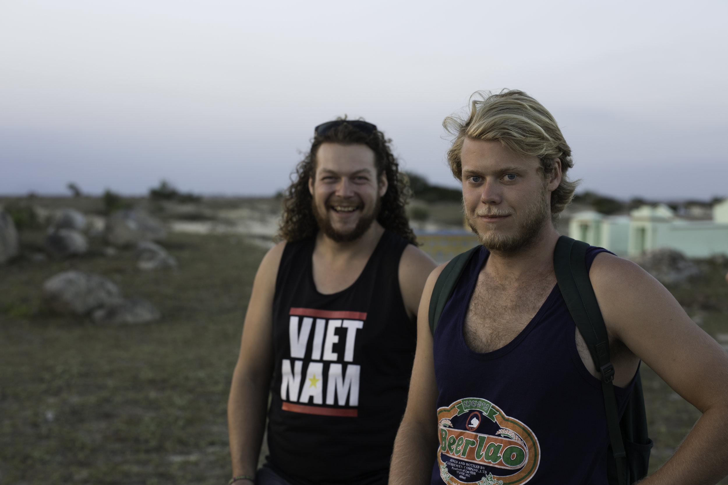The 'Danger Boys' -Ben & Kyle