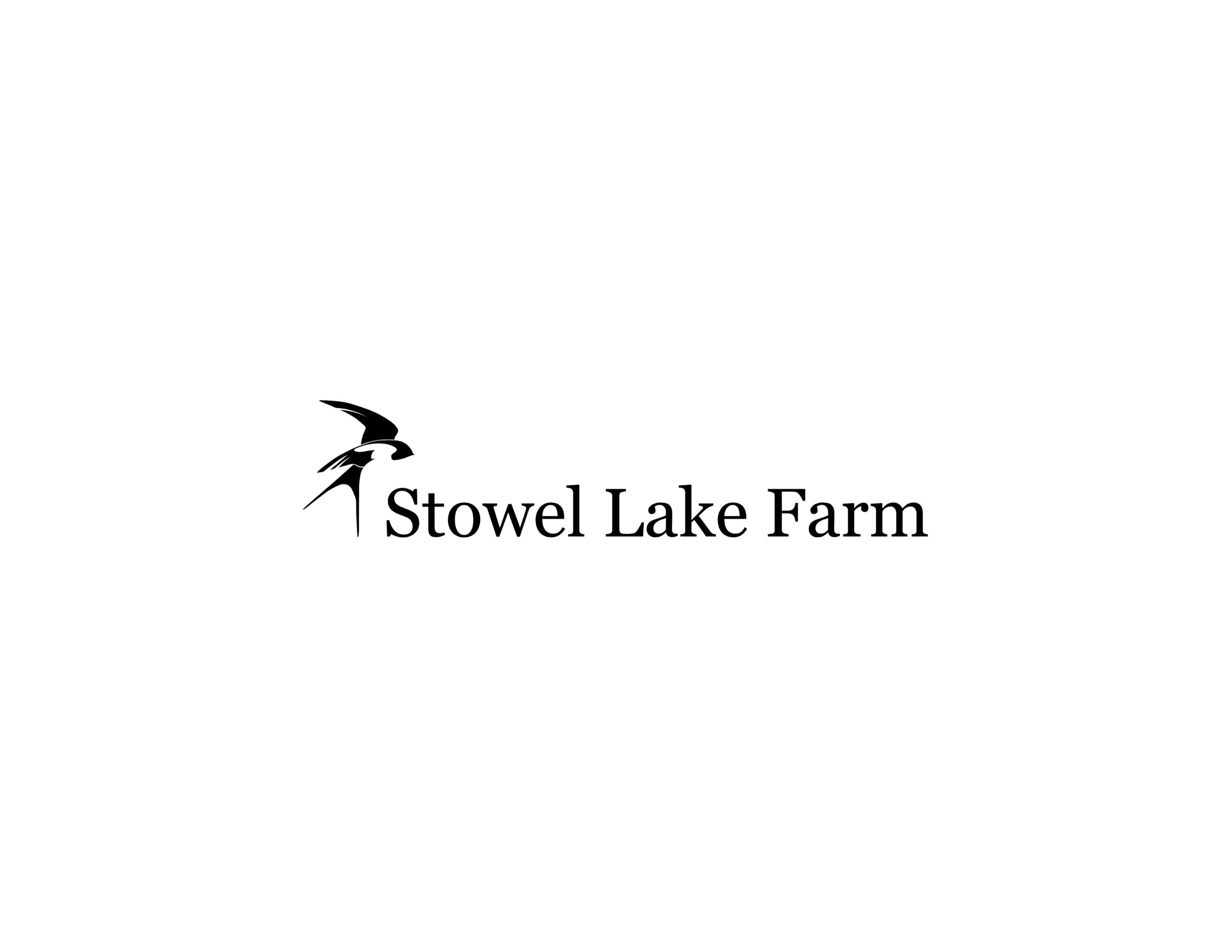 Logo: Stowel Lake Farm [illustrator draft]